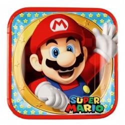 Πιάτα Τετράγωνα Super Mario