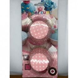 Χάρτινες Θήκες Cupcakes Ροζ...