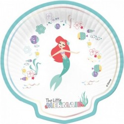 Ariel Disney Πιάτα Χάρτινα...