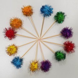 Pompon Toppers