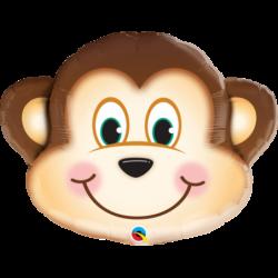 """Μπαλόνι Foil Μαϊμού 35"""""""
