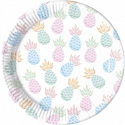 Πιάτα Μεγάλα Σχέδιο Ανανάς