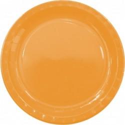 Πιάτα Πορτοκαλί Μεγάλα