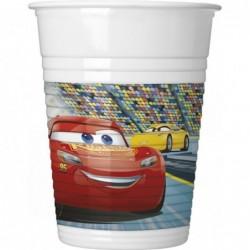 Cars 3: Πλαστικά Ποτήρια
