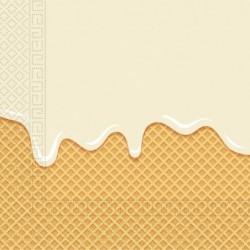Χαρτοπετσέτες Σχέδιο Παγωτό