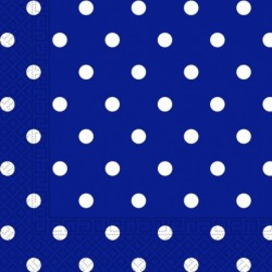 Χαρτοπετσέτες Μπλε Πουά