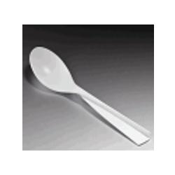Πλαστικό Κουτάλι Λευκό