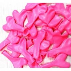 """Latex Καρδιά mini 6"""" 16CM Ροζ"""