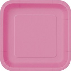 Πιάτα Τετράγωνα Μικρά Φούξια