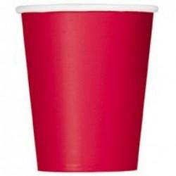 Ποτήρια Κόκκινα 270ml