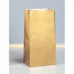 Χρυσά Χάρτινα Σακουλάκια Δώρου