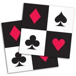 Χαρτοπετσέτες Μικρές Καζίνο