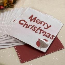 Χαρτοπετσέτες Merry Christmas