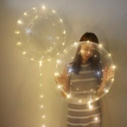 Μπαλόνι Φωτιζόμενο LED Λευκό